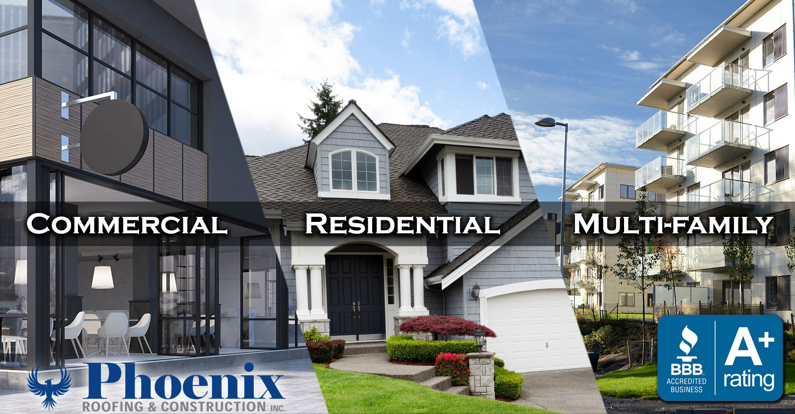 Commercial Residential & Multi-Family Roofing